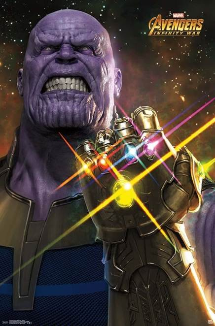 Avengers-Infinity-War-Thanos-Infinity-Gauntlet-poster