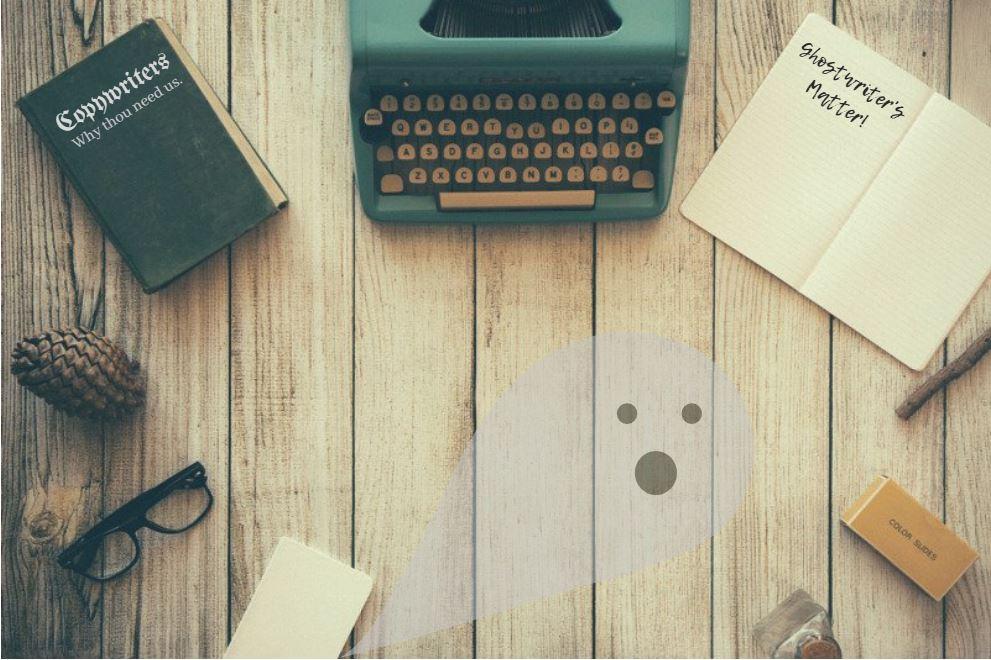 You Need Ghostwriters